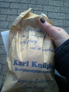Eine mit, bei Karl Knüpfling