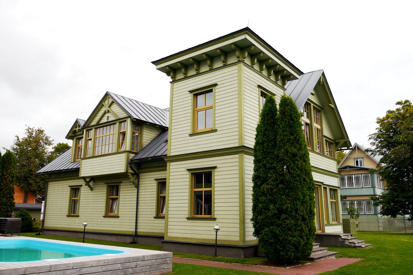Kurgo Villa Hotel & Restaurant in Pärnu, Estland