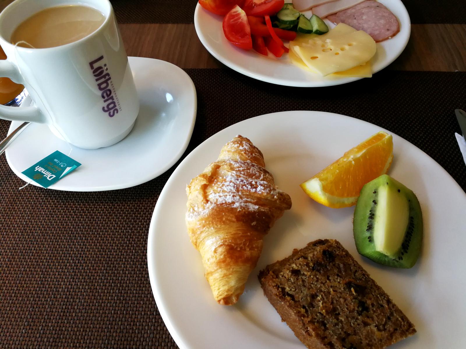 Das Frühstück im Hotel ibis Styles Vilnius, Litauen