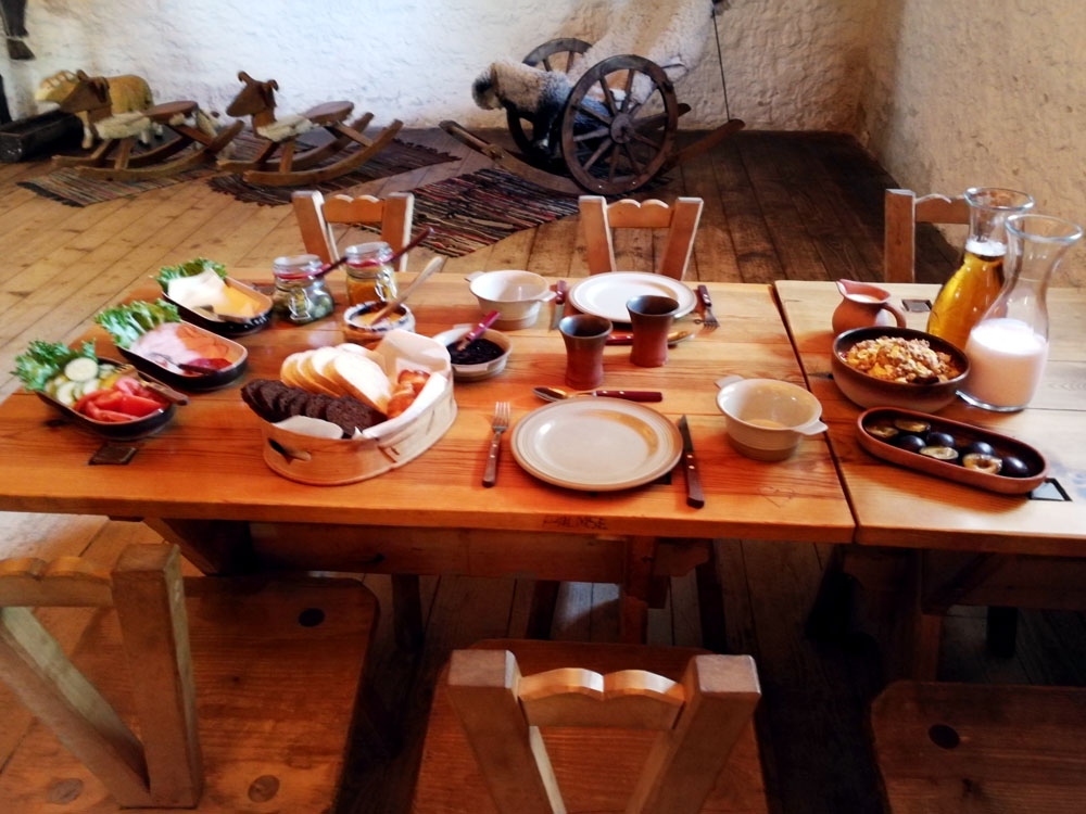 Frühstück-Palmse Manor-Estland