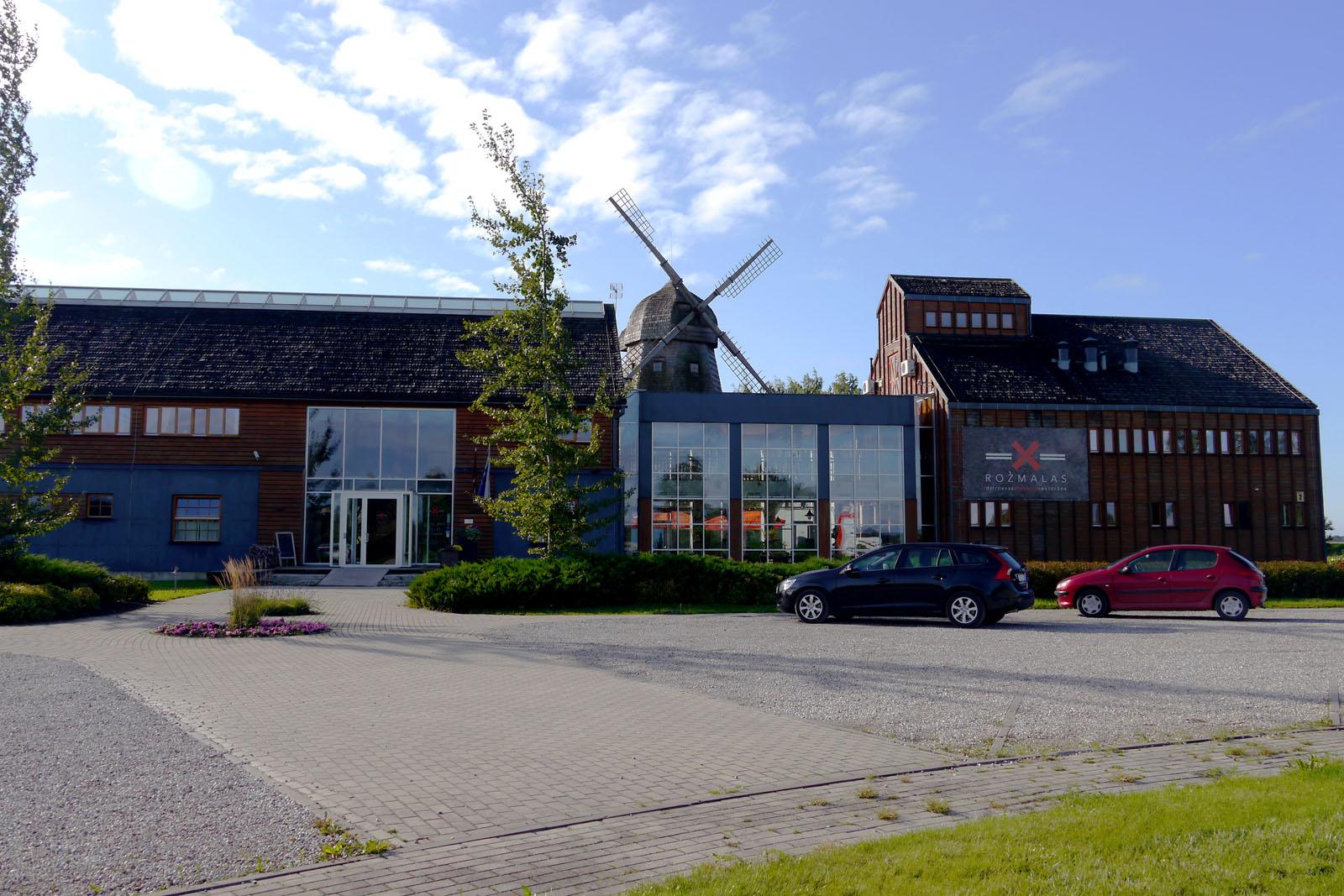 Rozmalas Hotel in Ceraukste, Lettland.
