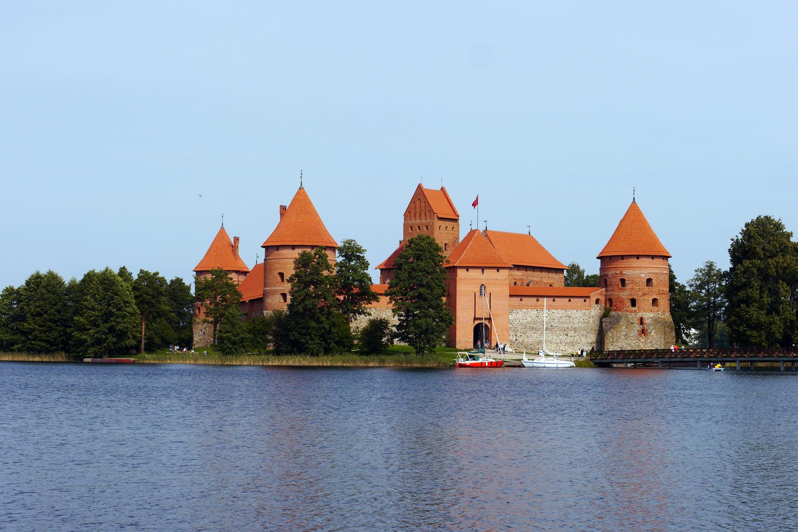 Trakai Wasserschloss in Litauen