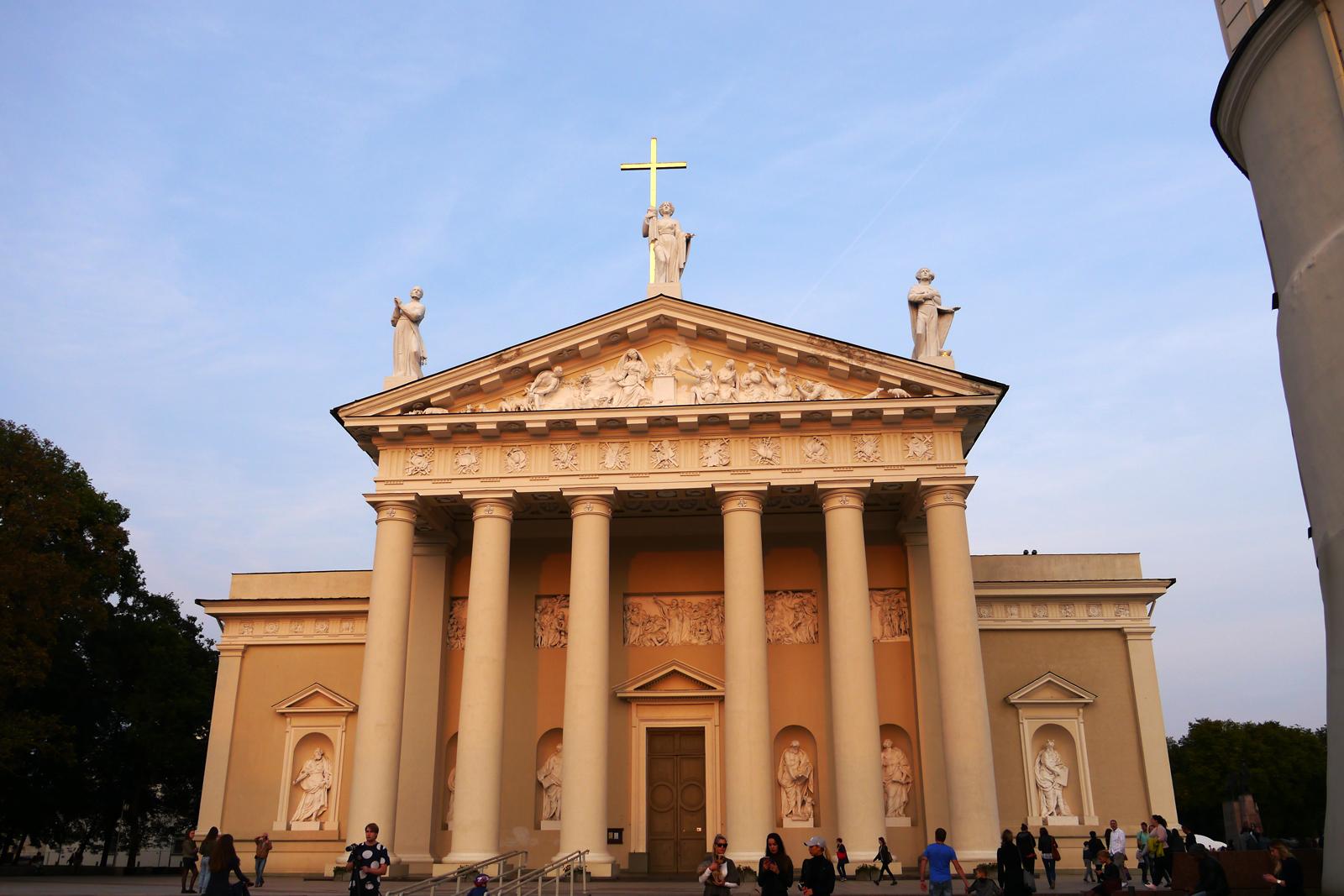 Vilnius, die Hauptstadt Litauens.