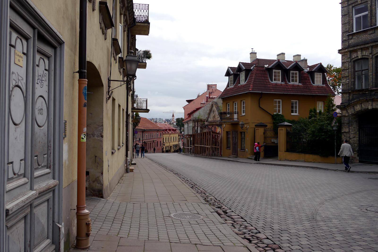 Die Republik Užupis in Vilnius.