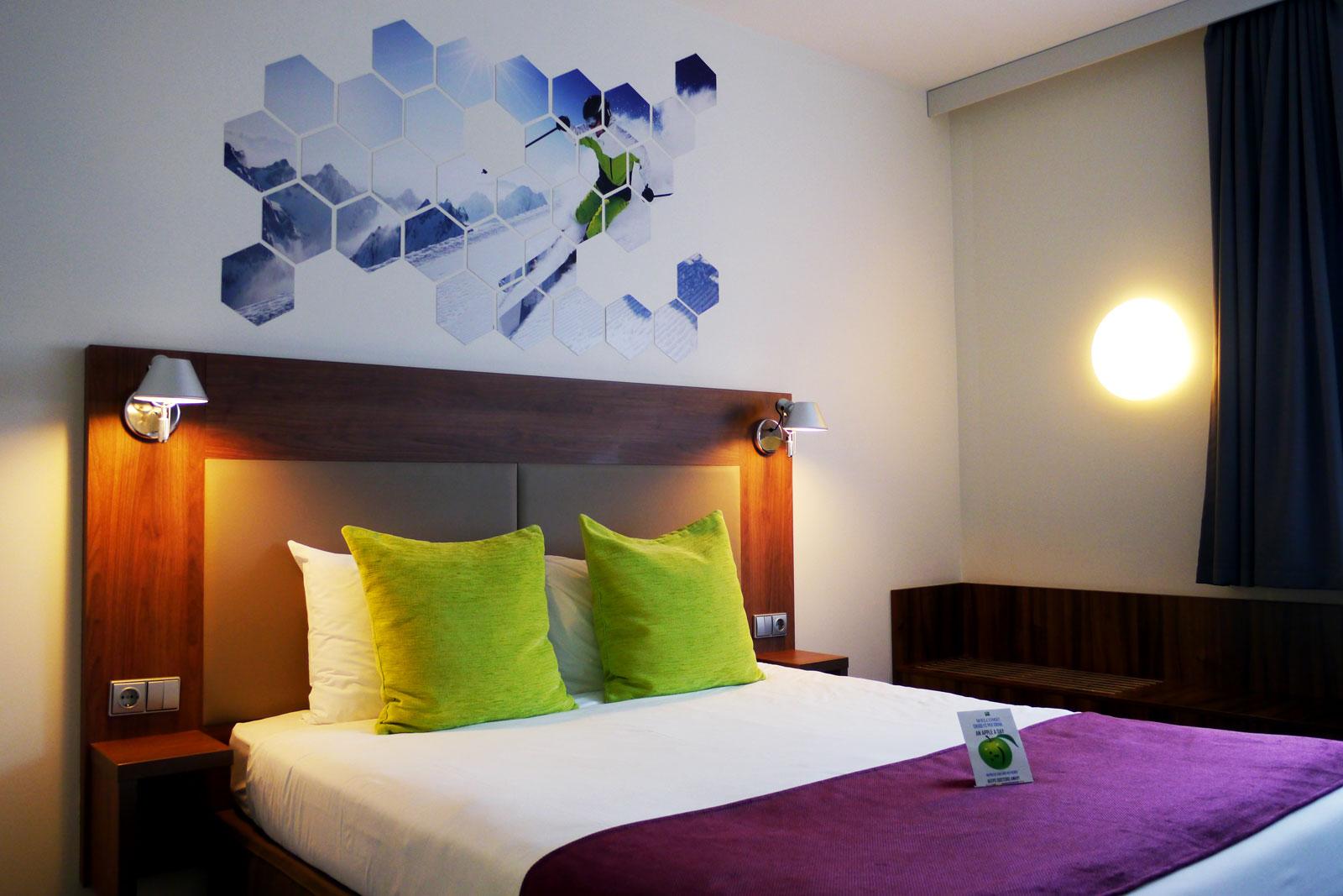 Hotelzimmer im ibis Styles Vilnius, Litauen.