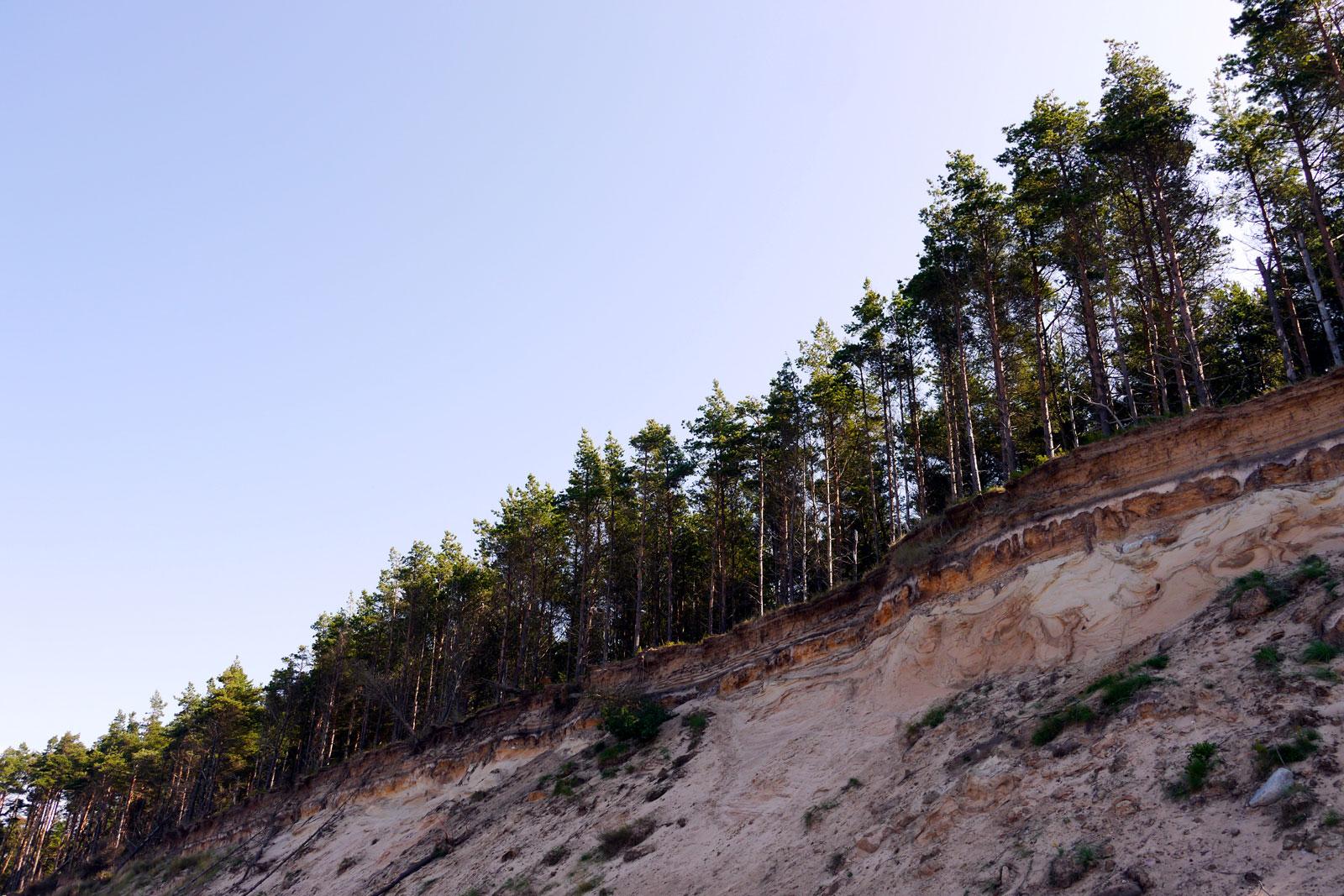 Jurkalne Steilküste in Lettland