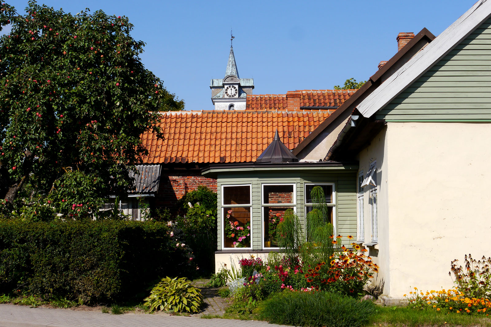 Kuldiga in Lettland.