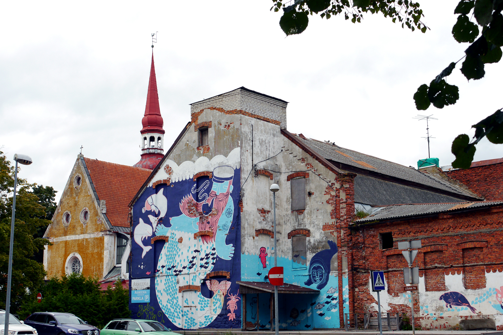 Pärnu-Estland-Estonia-Streetart