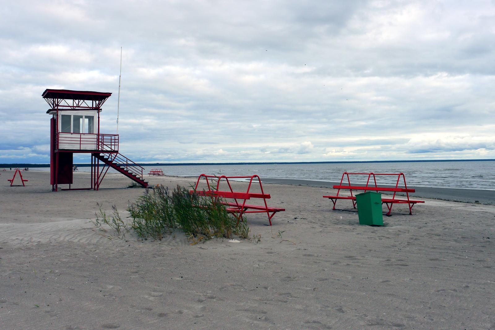 Pärnu Strand in Estland