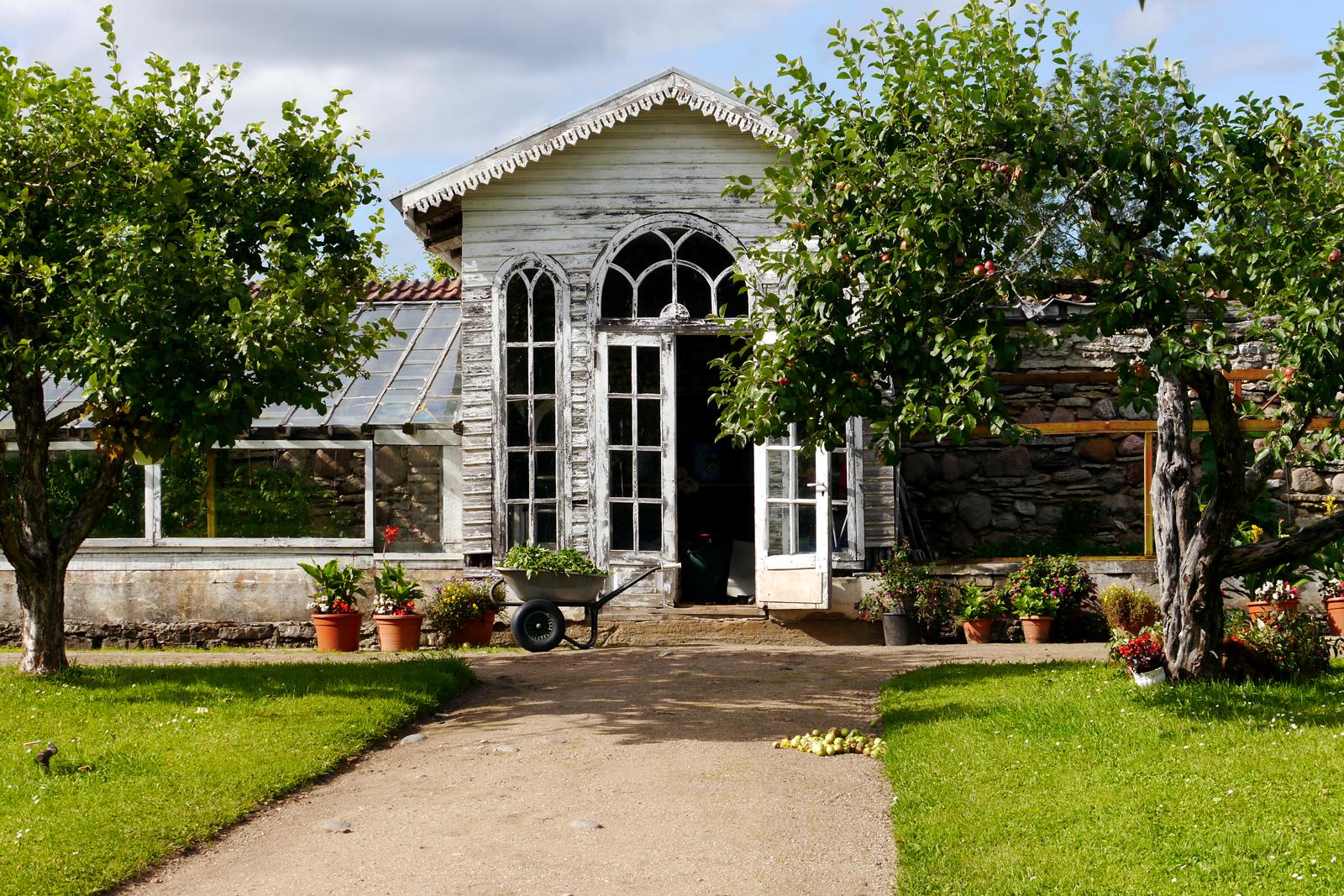 Das Palmse Manor im Lahemaa Nationalpark, Estland.
