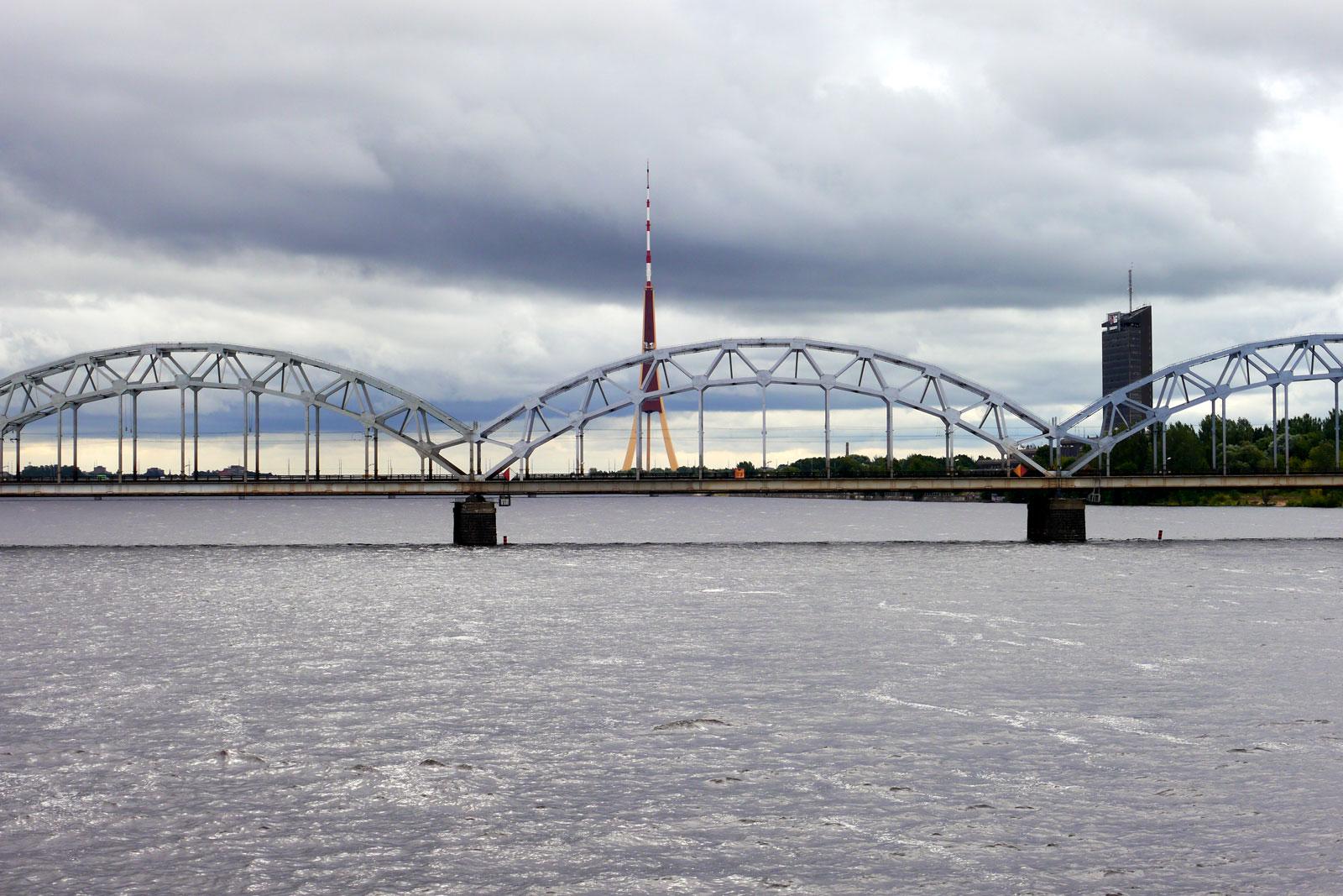 Riga Lettland Fernsehturm