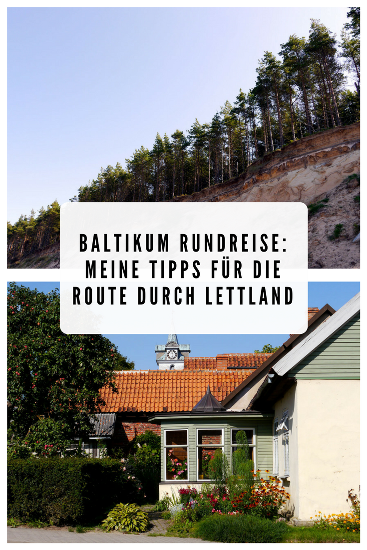 Baltikum Rundreise: Route Lettland
