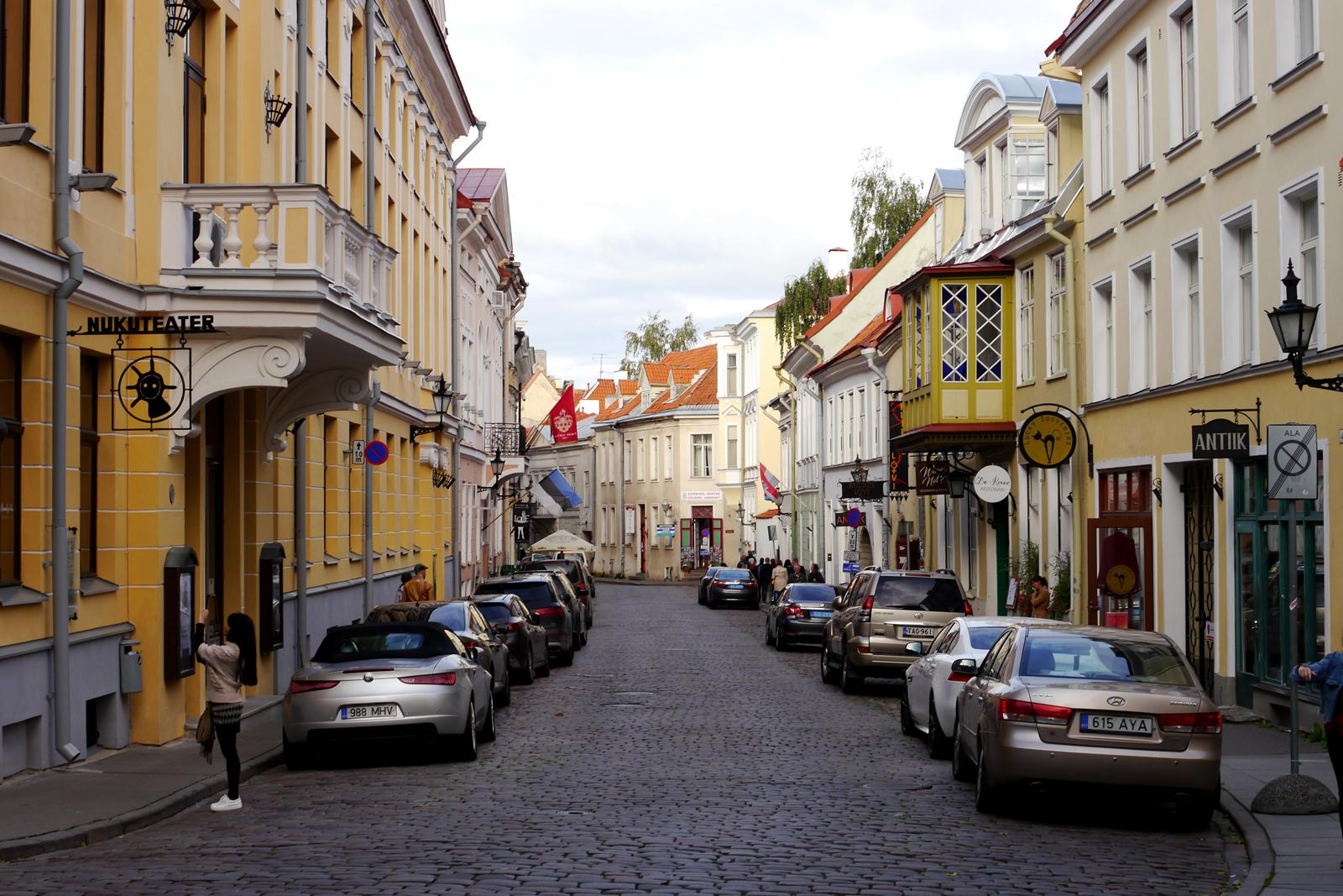 Die Altstadt von Tallinn, Estland.