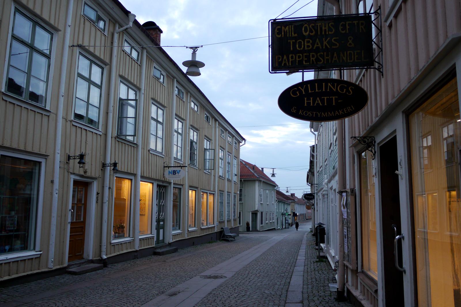 Die Altstadt von Eksjö.