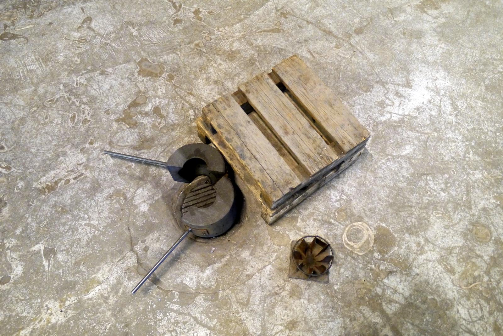 Werkzeuge für die Glasblaserei im Kosta Glascenter
