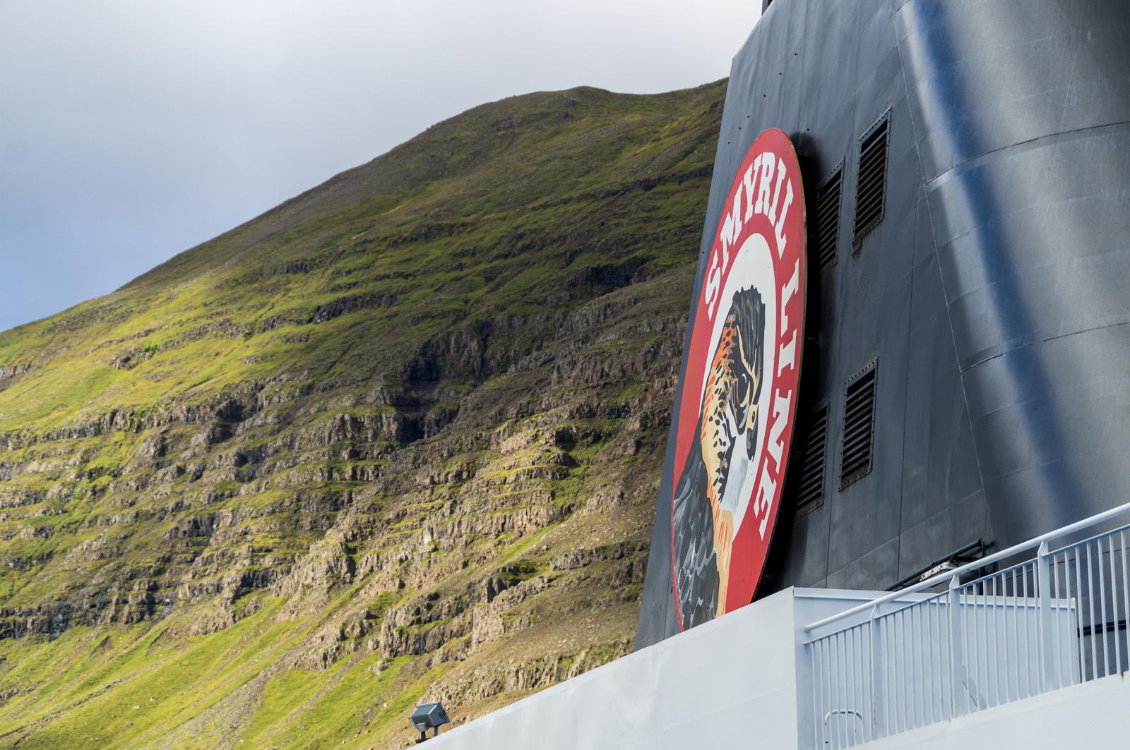 Mit der MS Norröna der Smyril Line in IslandMit der MS Norröna der Smyril Line in Island