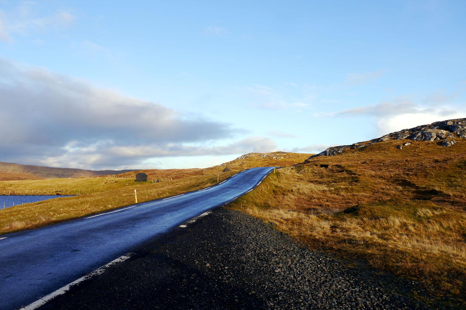 Bergstraße-Eysturoy-Faroer Inseln