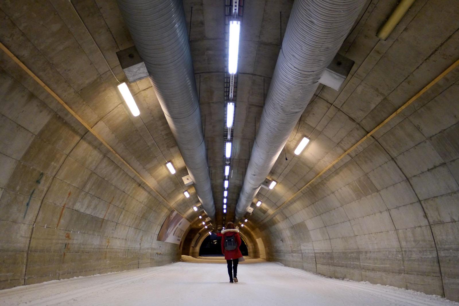 Langlauf Tunnel Vuokatti