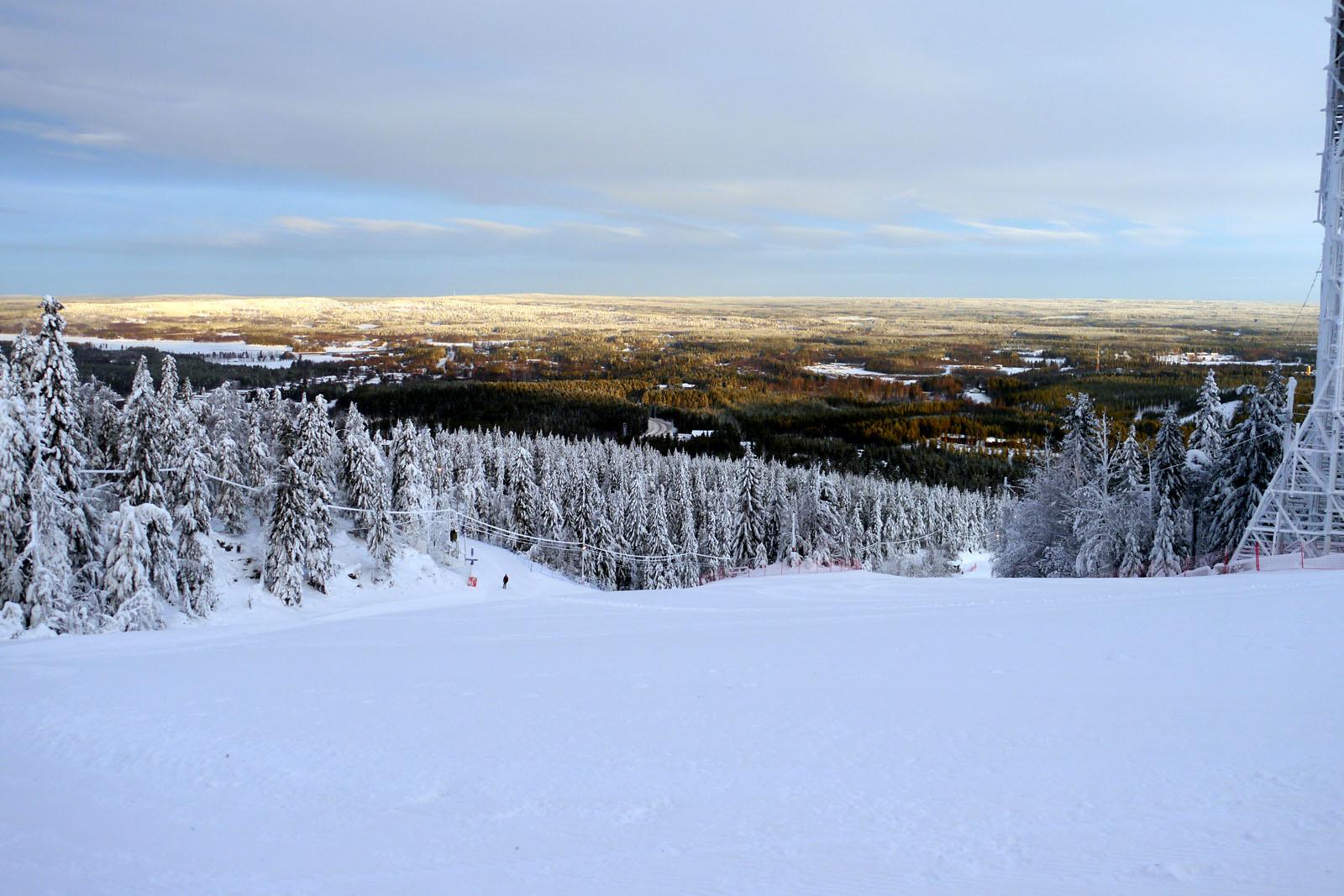 Vuokatti-Finnland-Ski-Piste-Winter