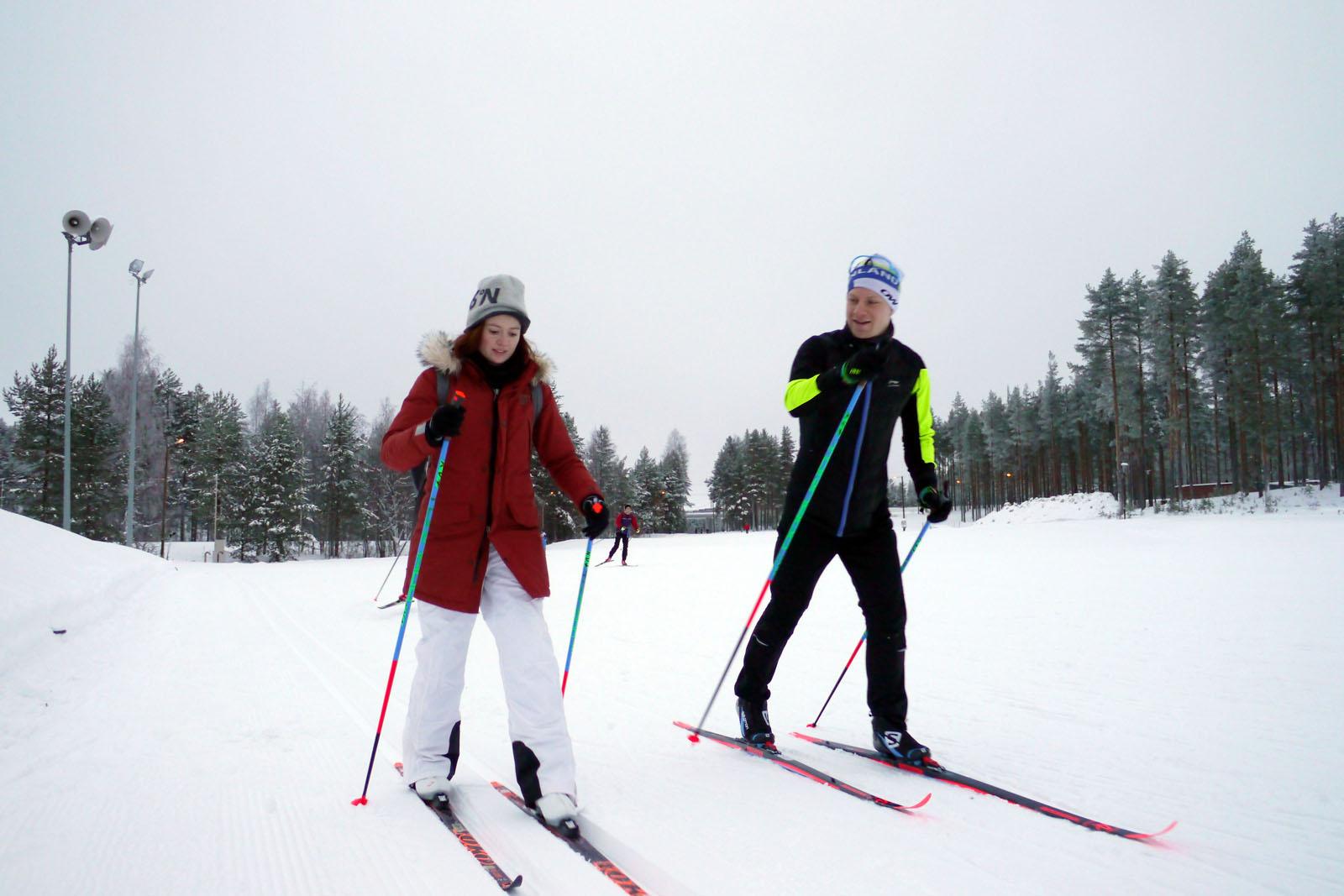 langlauf-vuokatti sport-finnland-winter