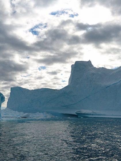 Eisberge vor Kumiuut, Ostgrönland