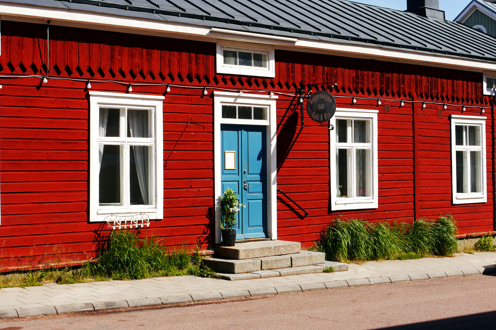 Aland Inseln-Mariehamn-Bagarstugan Cafe Vin