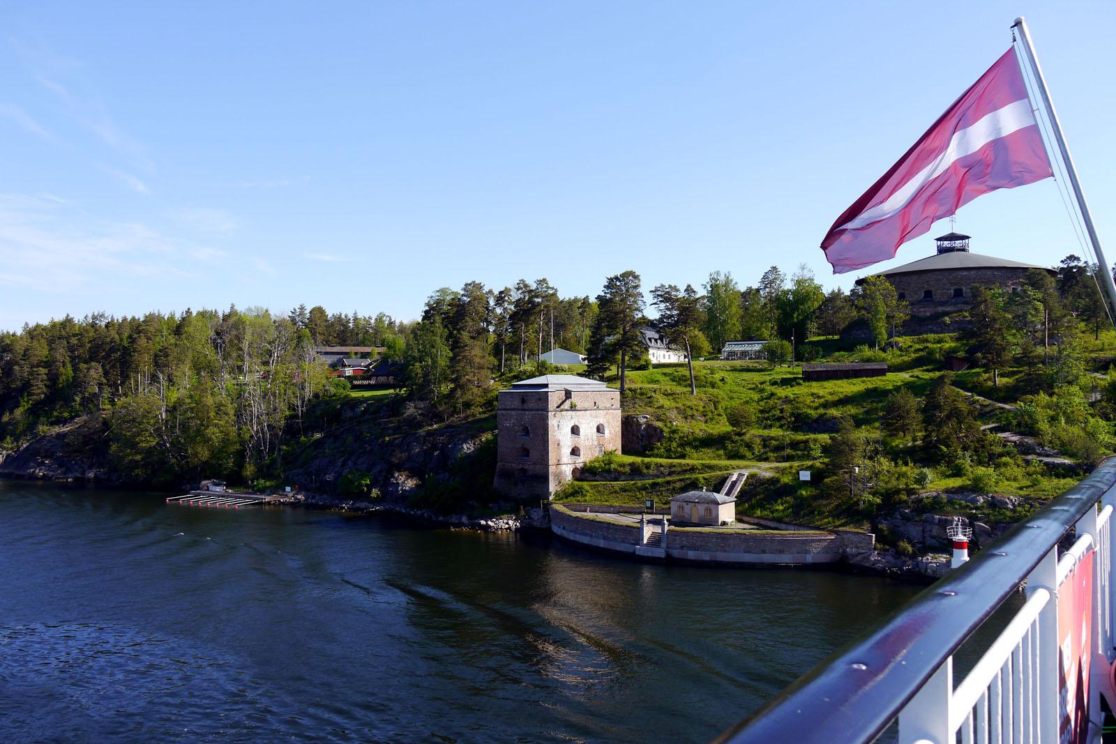 Riga-Stockholm-Isabelle-Stockholmer Schaerengarten