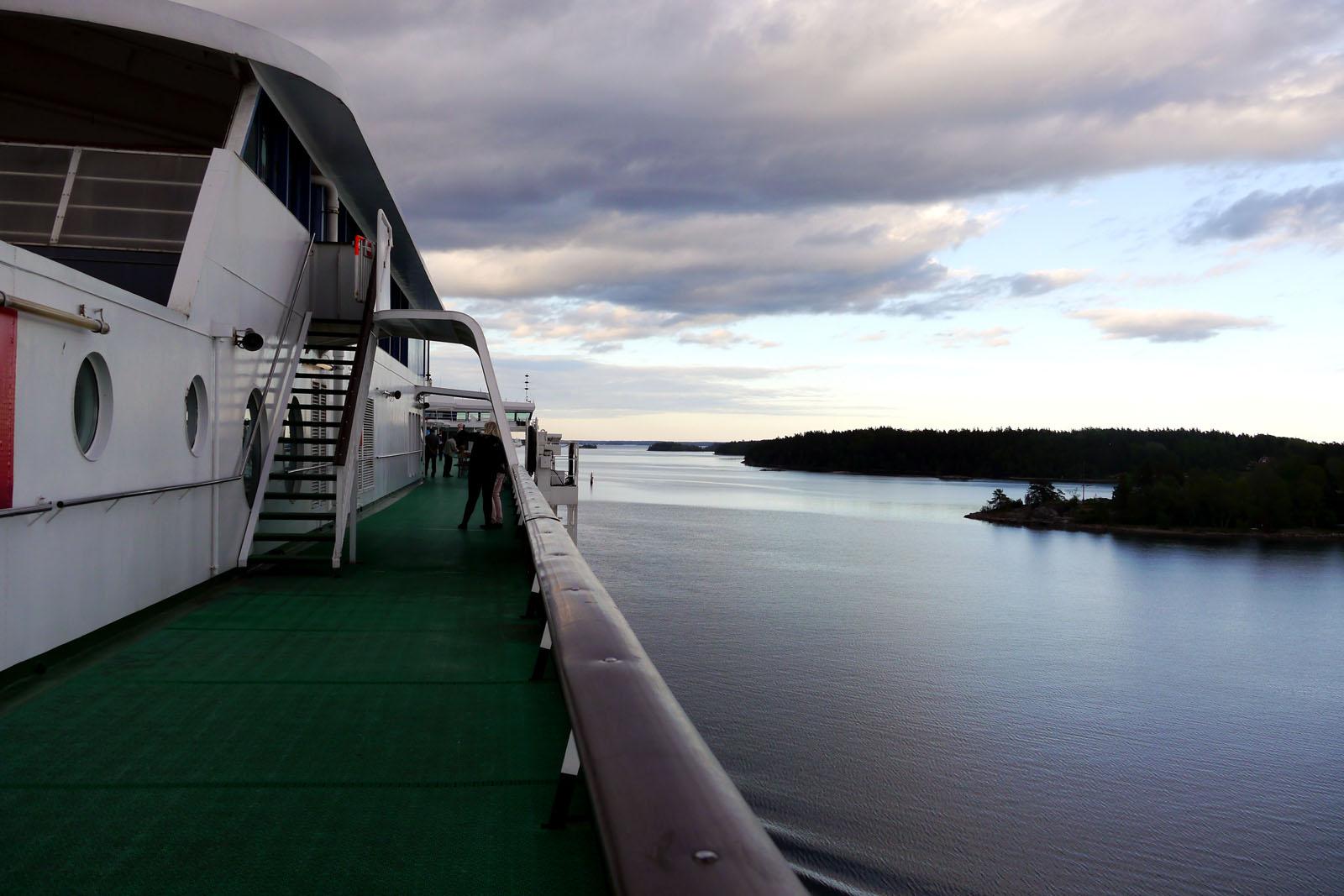 Stockholm-Aland Inseln-Silja Serenade