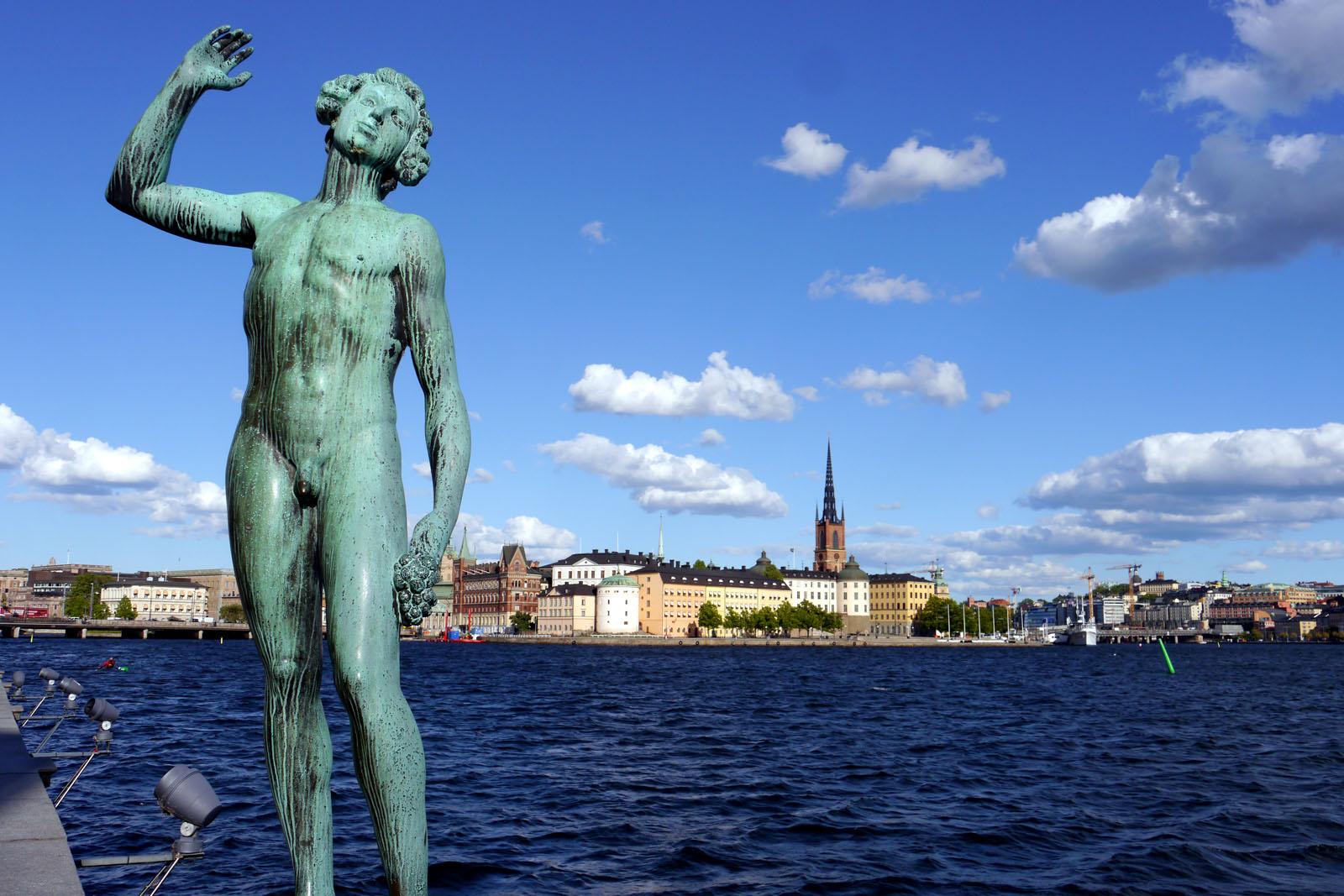 Stockholm-Rathaus-Riddarholmen