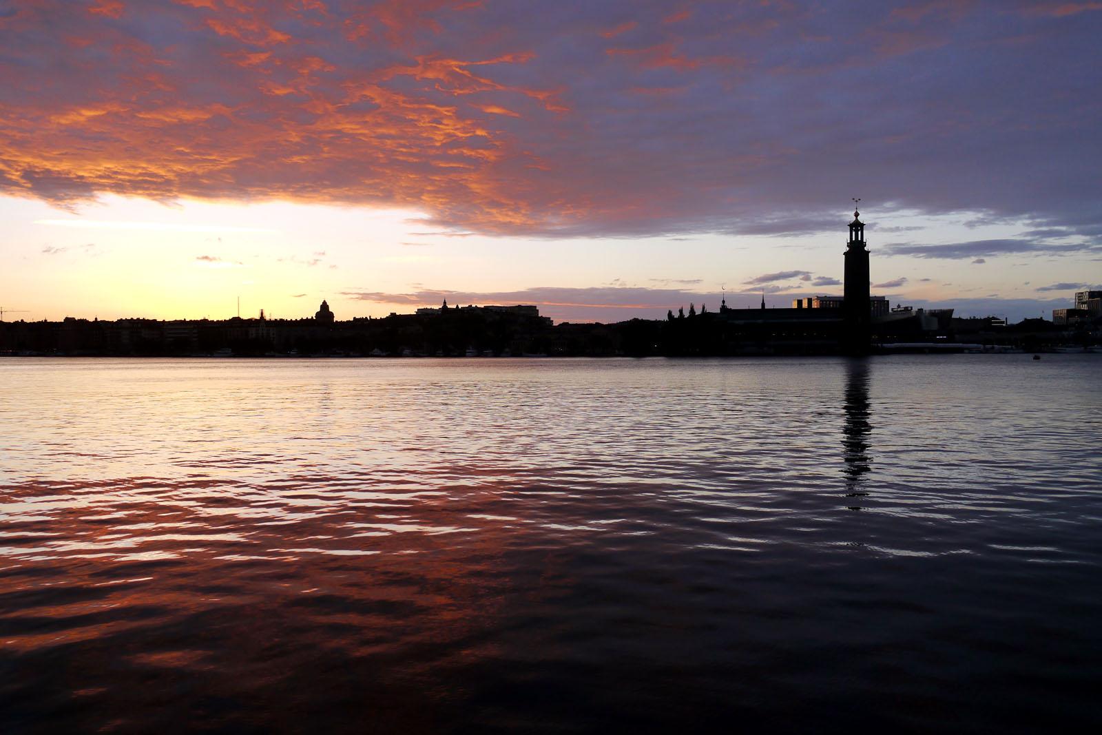 Stockholm-Rathaus-Schweden
