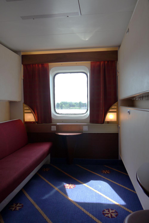 Tallink Silja-Isabelle-Kabine A-Meerblick