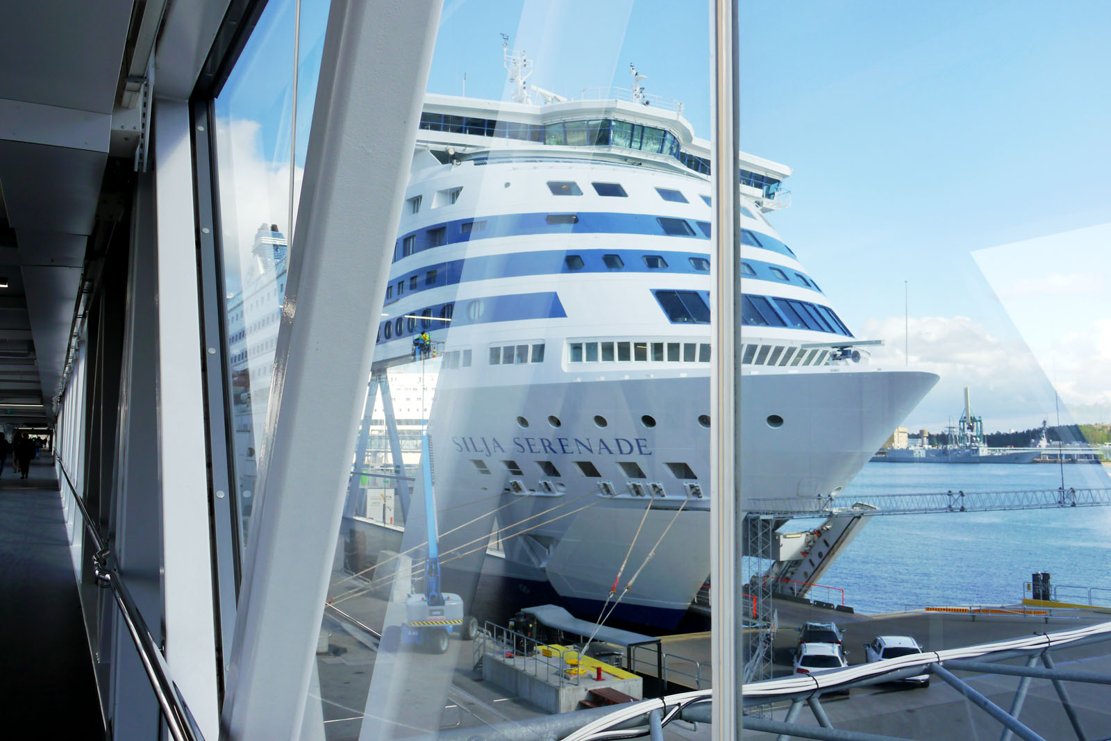 Tallink Silja Line-Silja Serenade-Stockholm Vaertahamnen