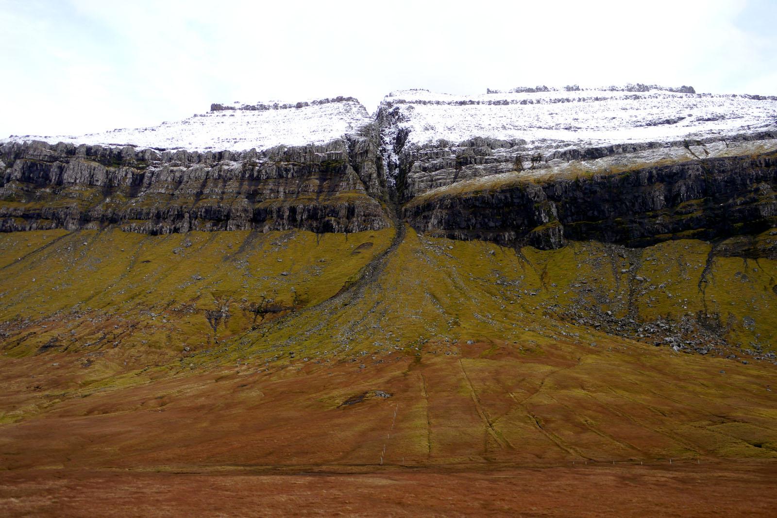 Faroer Inseln-Berge