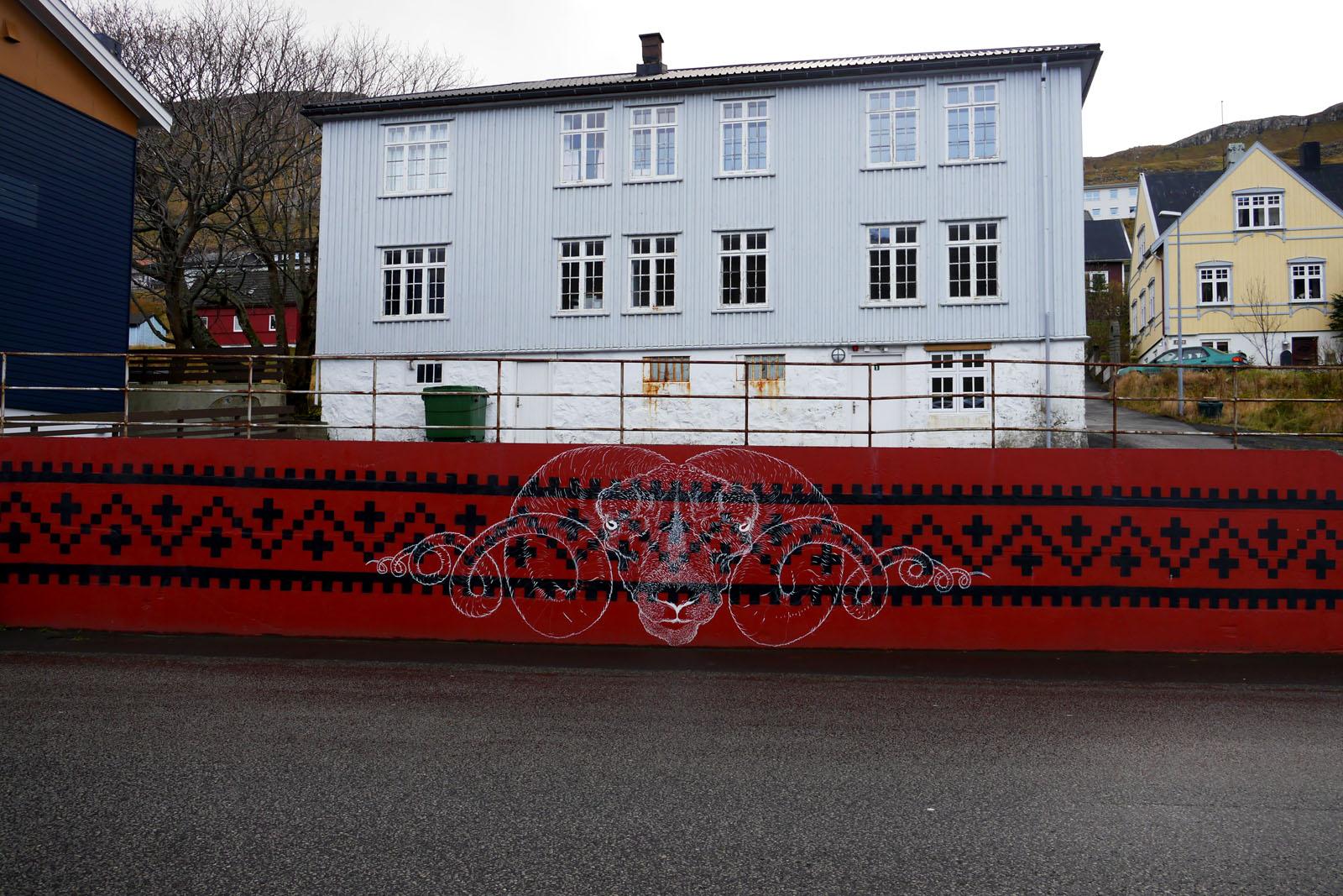 Klaksvik-Bordoy-Streetart-Faroer Inseln
