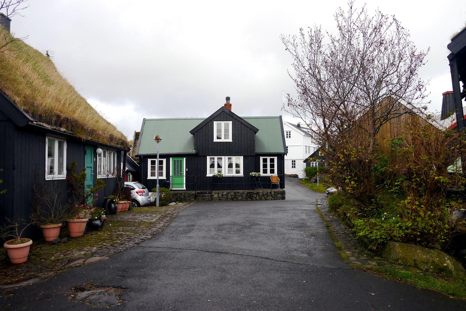 Torshavn-Faroer Inseln-Altstadt