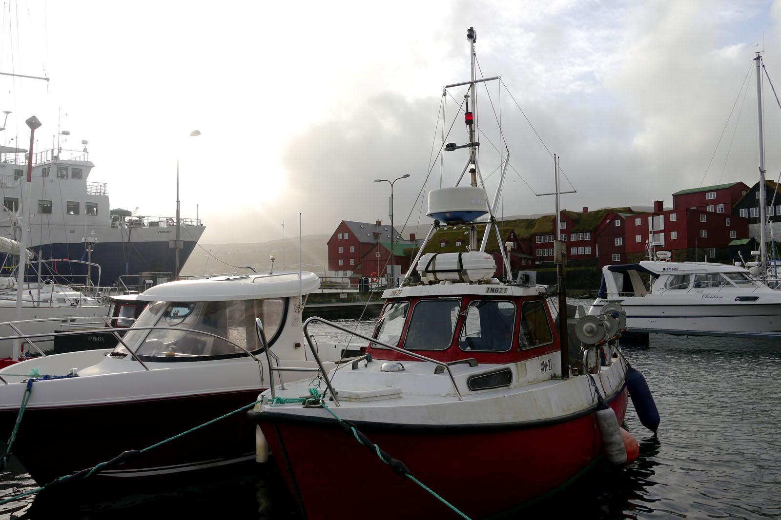 Torshavn-Faroer Inseln-Hafen