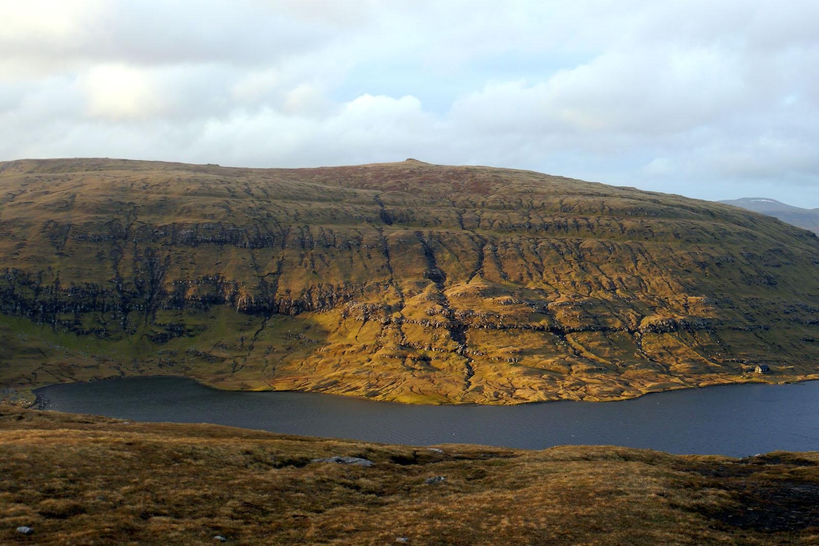 Vagar-Faroer Inseln-Leitisvatn-Sorvagsvatn-Wanderung