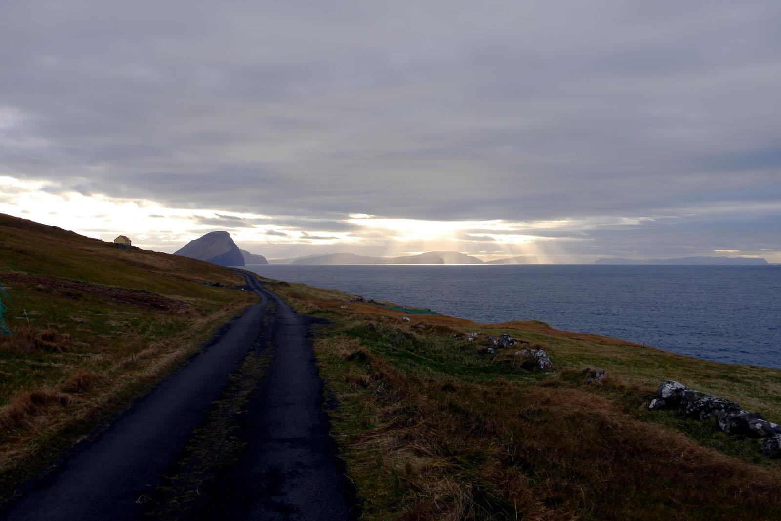 Vagar-Meer-Koltur-Faroer Inseln
