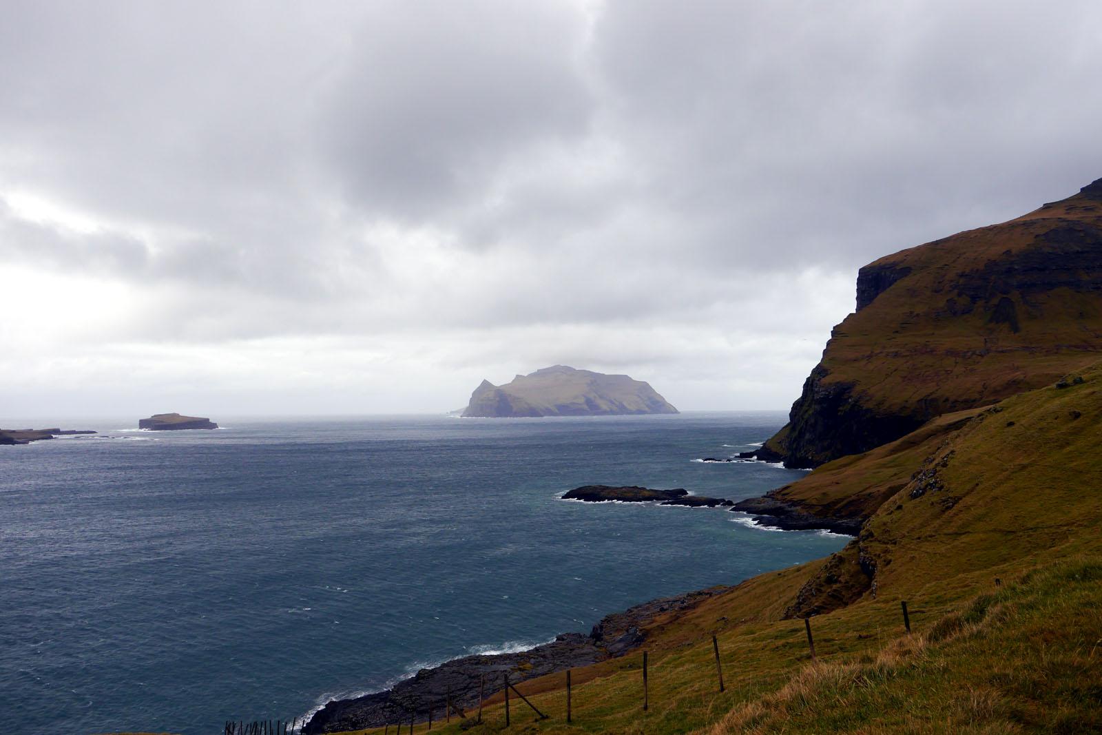 Vagar-Mykines-Faroer Inseln