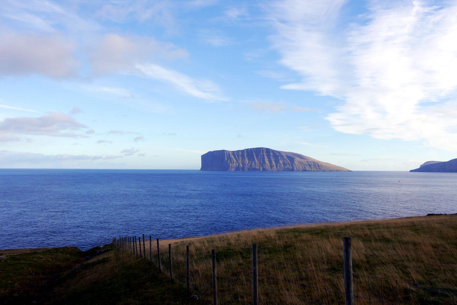 Vidoy-Fugloy-Faroer Inseln-Atlantik-Meer