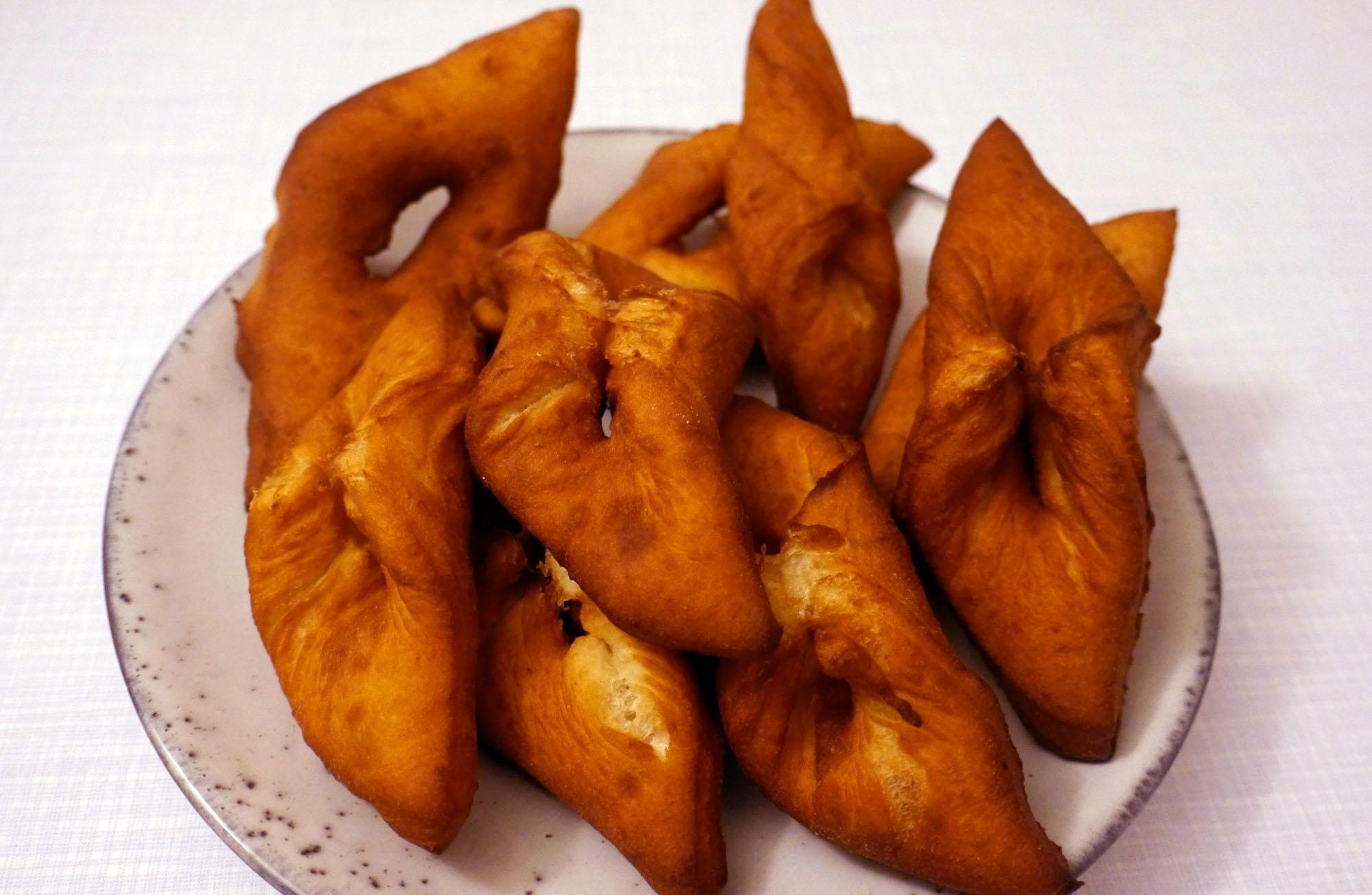 Ein Rezept für Kleiner, die isländischen Donuts.